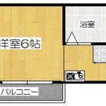 JR奈良線沿線京都市伏見区深草グランディール深草 1R/2階【賃貸】