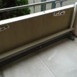 JR奈良線東福寺駅近くバルコニー